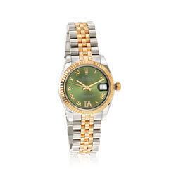 Certified Pre-Owned Rolex Datejust Women's 31mm Automatic Watch in Two-Tone, , default