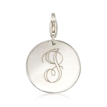 6-7mm Cultured Pearl Necklace with Sterling Silver Personalized Disc Charm, , default