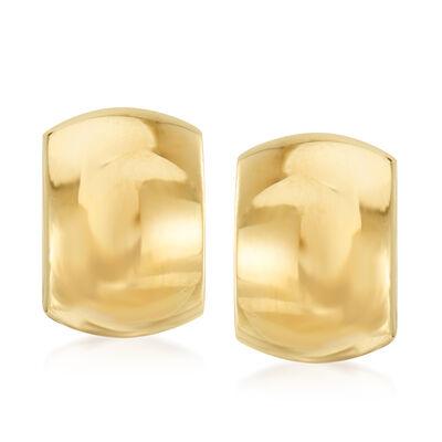 Italian 14kt Yellow Gold Earrings