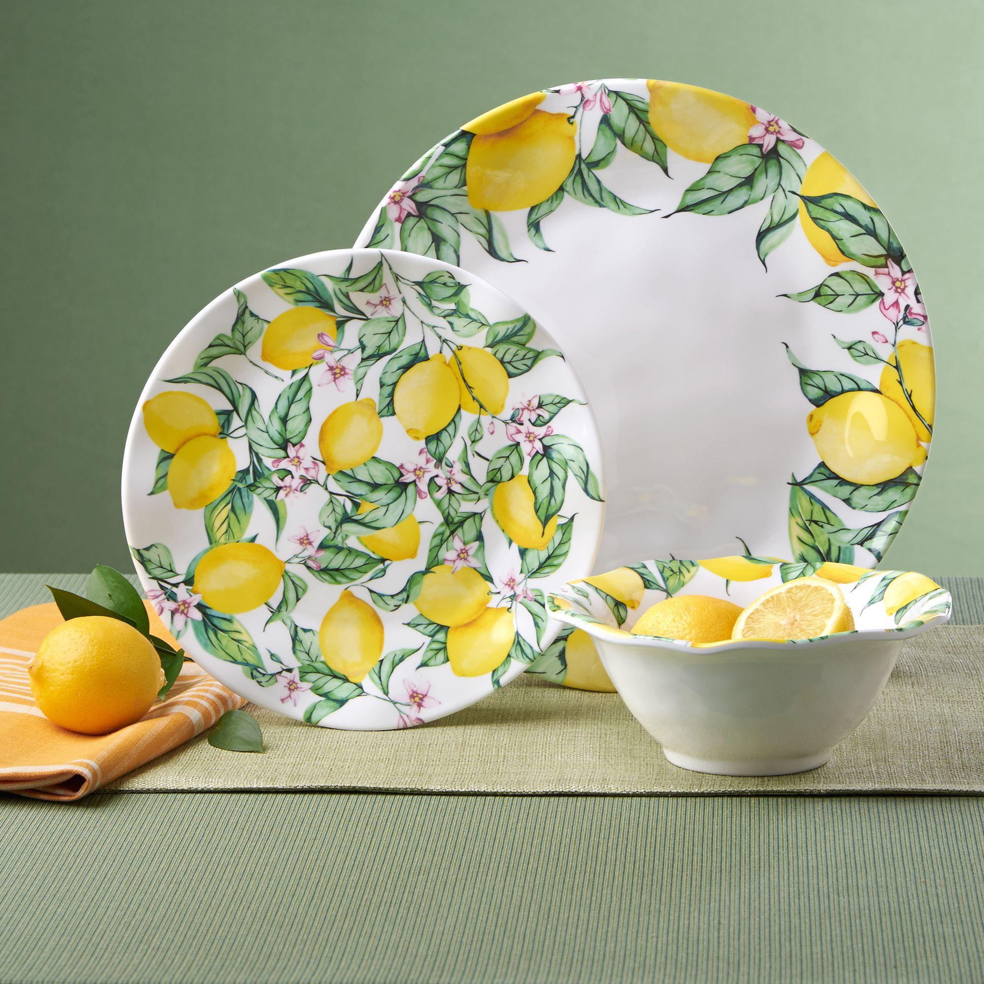 u0026quot;Limonatau0026quot; Melamine Dinnerware  default & Limonata