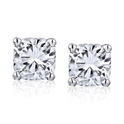 2.90 ct. t.w. Certified Diamond Stud Earrings in Platinum, , default
