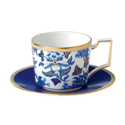 "Wedgwood ""Hibiscus"" Tea Service"