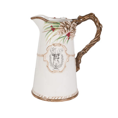"""Fitz and Floyd """"Forest Frost"""" Pitcher, , default"""