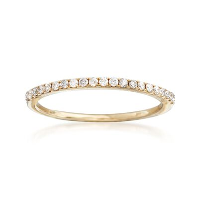 .21 ct. t.w. Pave Diamond Ring in 14kt Yellow Gold, , default
