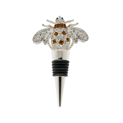 Joanna Buchanan Bee Bottle Stopper, , default