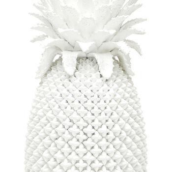 White Porcelain Decorative Pineapple Vase