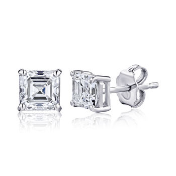 .70 ct. t.w. Certified Diamond Stud Earrings in Platinum, , default