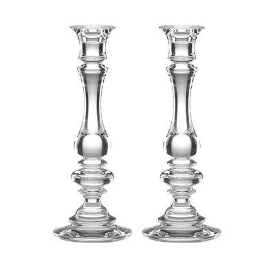 "Reed & Barton ""Weston"" 2-pc Crystal Candlestick Set, , default"