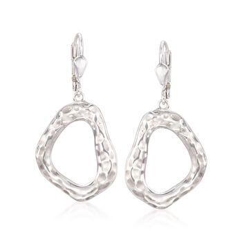 """Zina Sterling Silver """"Touchstone"""" Geometric Drop Earrings, , default"""