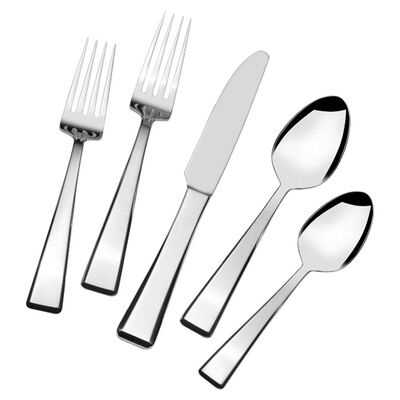 "Mikasa ""Kirkland"" 20-pc. Service for 4 18/10 Stainless Steel Flatware Set"