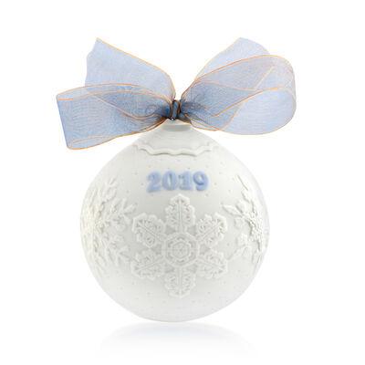 Lladro 2019 Annual Porcelain Ball Ornament, , default