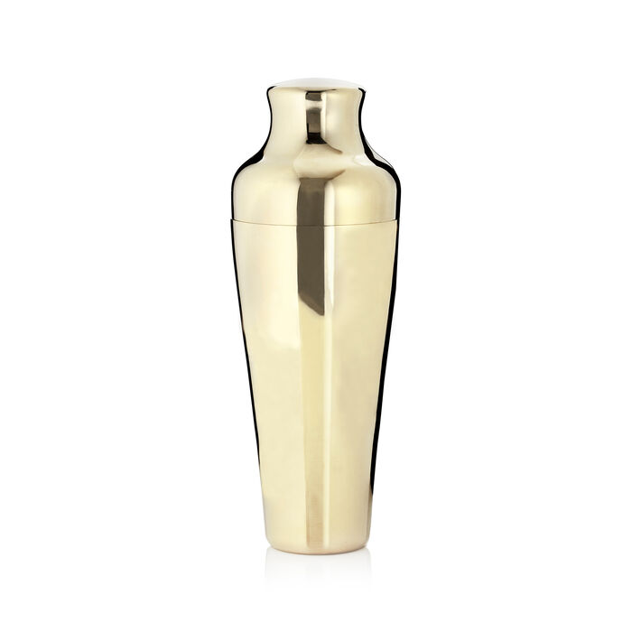 Goldtone Stainless Steel Cocktail Shaker