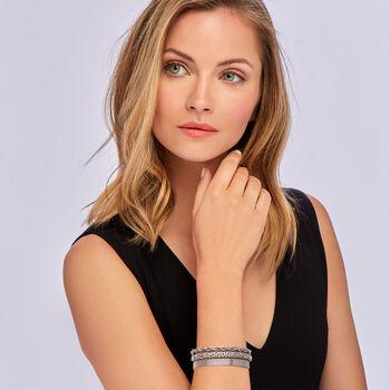 Sterling Silver Jewelry Set: Three Link Bracelets