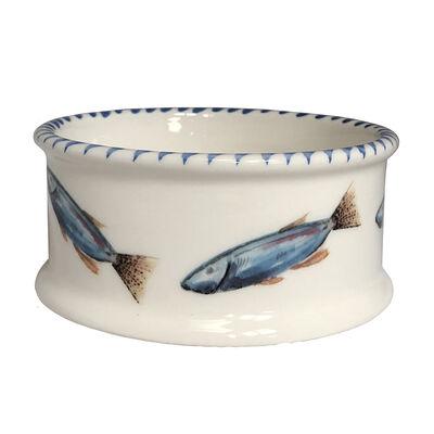 Abbiamo Tutto Italian School of Fish Ceramic Coaster, , default