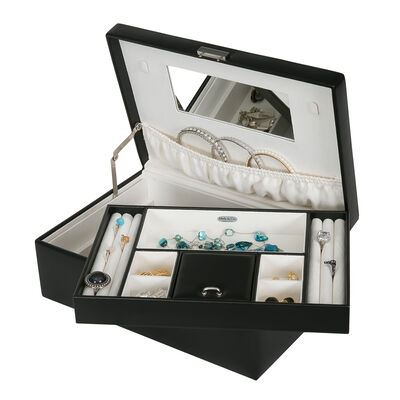 "Mele & Co. ""Bijou"" Faux Leather Jewelry Box, , default"