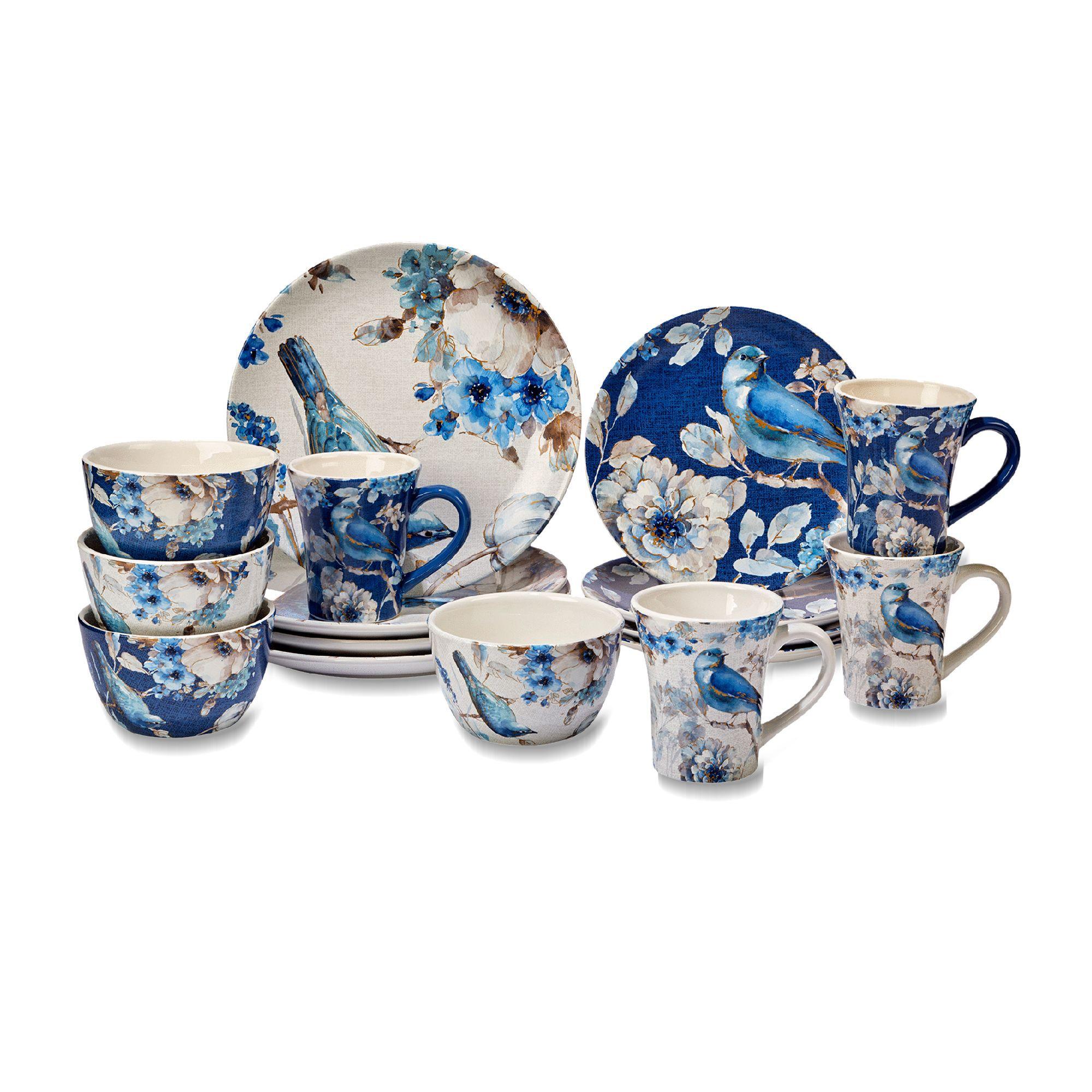 Lisa Audit u0026quot;Indigoldu0026quot; Ceramic Dinnerware  default  sc 1 st  Ross-Simons & Lisa Audit