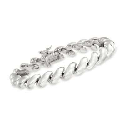 Italian Sterling Silver San Marco Bracelet