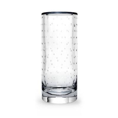 """Kate Spade New York """" Larabee Dot"""" Crystal Cylinder Vase, , default"""