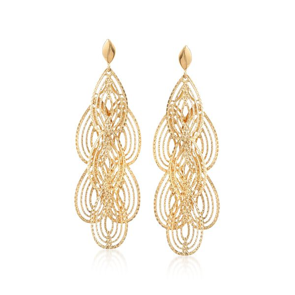 Jewelry Gold Earrings #883813
