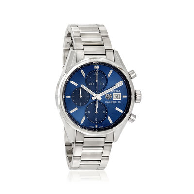 TAG Heuer Carrera Men's 41mm Stainless Steel Watch , , default