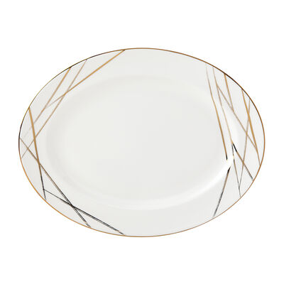 "Lenox ""Abergreen"" Oval Platter"