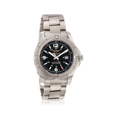 Breitling Colt Quartz Volcano Black 44mm Men's Watch in Stainless Steel, , default