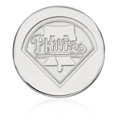 Sterling Silver MLB Philadelphia Phillies Lapel Pin