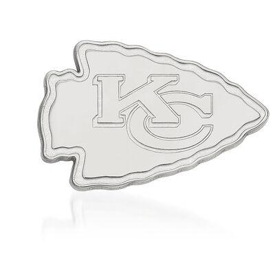 Sterling Silver NFL Kansas City Chiefs Lapel Pin, , default