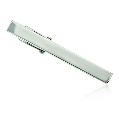 Stainless Steel Polished Tie Clip, , default