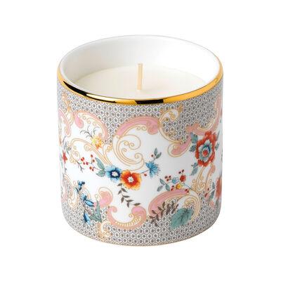 "Wedgwood ""Wonderlust"" Rococo Flower Candle, , default"