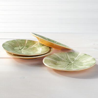 Bordallo Pinheiro Melon - Set of Four Small Plates, , default