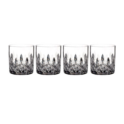 "Waterford Crystal ""Connoisseur"" Set of 4 Lismore Straight-Sided Tumbler Glasses"