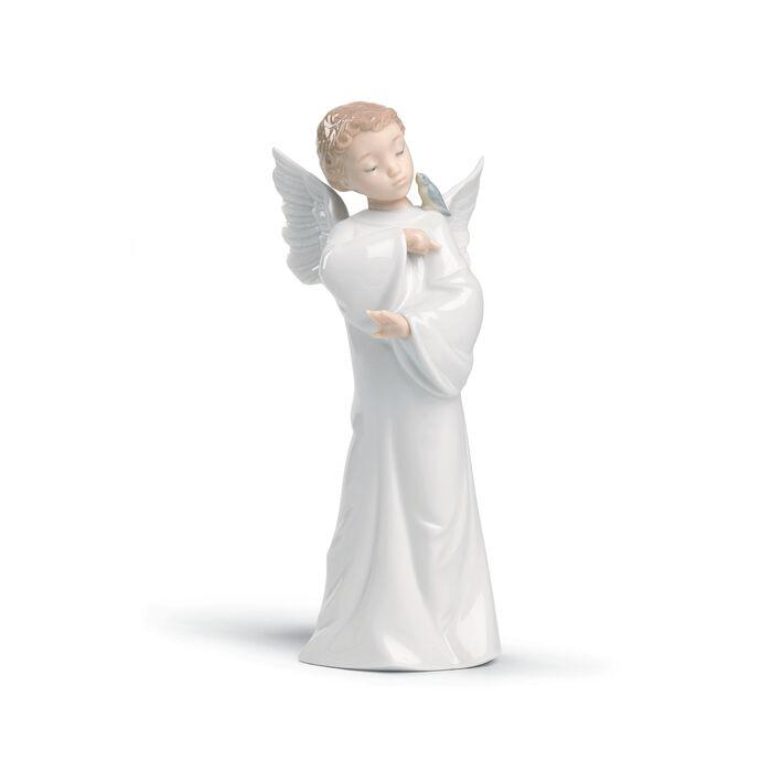 "Nao ""Guardian Angel"" Porcelain Figurine, , default"