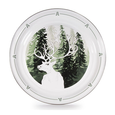"Golden Rabbit ""Forest Glen"" Large Tray, , default"