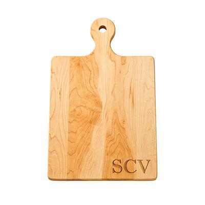 Maple Wood Personalized Artisan Board, , default