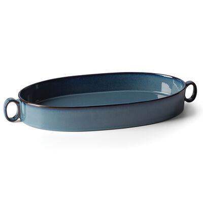 """Dansk """"Generations II"""" Nordic Blue Oval Roaster"""