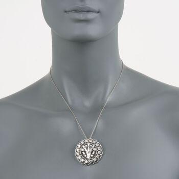 C. 1960 Vintage 5.75 ct. t.w. Diamond Pin Pendant in Platinum, , default