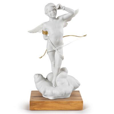 """Lladro """"Cupid"""" Porcelain Figurine, , default"""