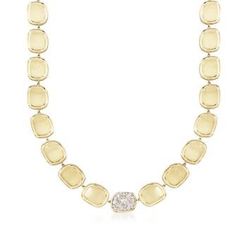 """Roberto Coin .86 ct. t.w. Diamond Necklace in 18kt Yellow Gold. 16"""", , default"""