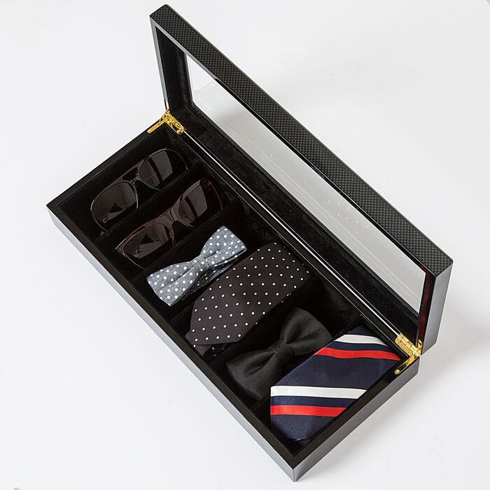 """Brouk & Co. """"Safe Specs"""" Men's Black Sunglasses Box, , default"""