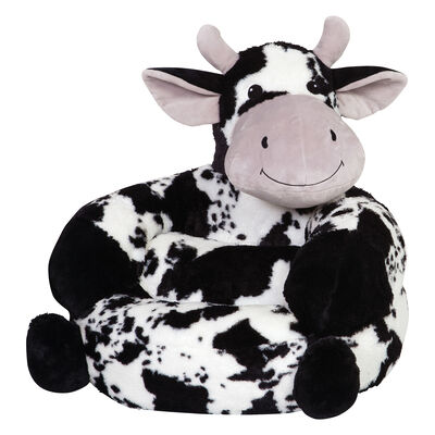 Children's Plush Cow Chair, , default