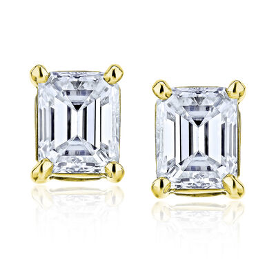 .70 ct. t.w. Diamond Stud Earrings in 14kt Yellow Gold, , default