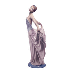 "Lladro ""Dancer"" Porcelain Figurine, , default"