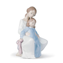 "Nao ""A Moment With Mommy"" Porcelain Figurine, , default"