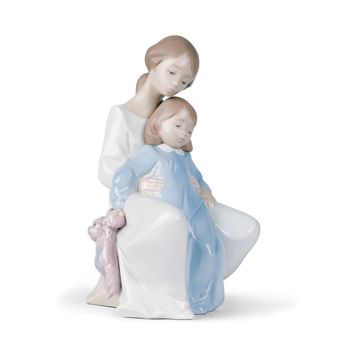 "Nao ""A Moment with Mommy"" Porcelain Figurine , , default"