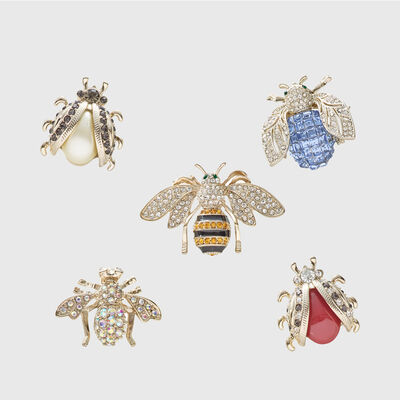 Joanna Buchanan Set of 5 Mini Bug Clips, , default
