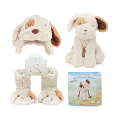 "Bunnies by the Bay ""Just Like Skipit the Pup"" Baby 4-pc. Gift Set, , default"