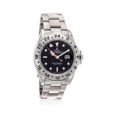 Pre-Owned Rolex Explorer II Men's 40mm Automatic Stainless Steel Watch, , default