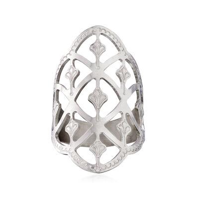 Italian Filigree Ring in Sterling Silver, , default
