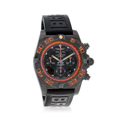 Breitling Chronomat 44 Raven Men's 44mm Auto Chronograph Black Stainless Steel Watch, , default